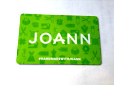 JOANN GIFT CARD COLLECTIBLE NO VALUE RECHARGEABLE