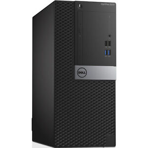Dell OptiPlex 3040 MT Desktop Computer PC i7-6700 8GB Ram 512GB SSD & 2TB HDD