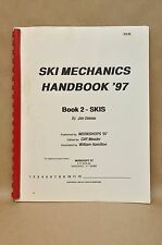 1997 Work Shops Ski Mechanics Book #2 Service Repair Tuning Waxing Manual