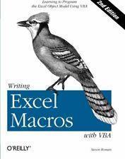 Writing Excel Macros with VBA-PhD Steven Roman
