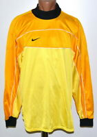NIKE VINTAGE TEMPLATE 1990'S GOALKEEPER FOOTBALL SHIRT JERSEY SIZE XL ADULT