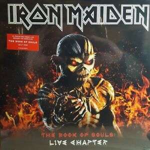 Iron Maiden - The Book of Souls: Live Chapter - New 180g Vinyl 3LP