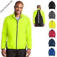 Mens Reflective Jacket Golf Jacket Running Jacket Water Wind Resistant J345