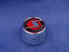✅ 4x Nabenkappen SC2 Chrom - Logo Rot Schmidt Revolution Nabendeckel 5 Klammern