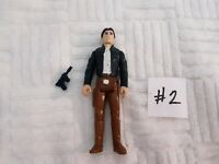 Vintage 1980 Star Wars Han Solo Bespin Action Figure with Blue Gun #2