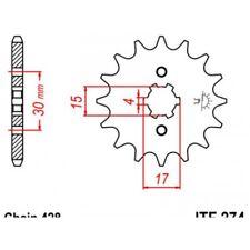 Pignon acier 14 dents jt chaîne 428 honda crf100f Jt sprockets JTF274.14