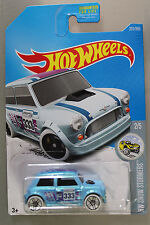 Hot Wheels 1:64 Scale 2017 HW Snow Stormers Series MORRIS MINI (LIGHT BLUE)