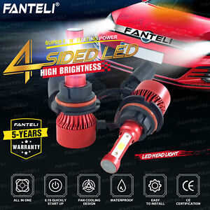 9004 HB1 LED Headlight Conversion Set 2205W 330750LM High Low Beam Bulbs 6000K