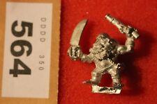 Games Workshop WARHAMMER lunga drong Nano Slayer Pirati Figura Metallo NANI B