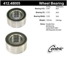 Wheel Bearing-Premium Bearings Front Centric 412.48005