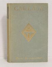 Meine Gefangenschaft. Vor der Weltgeschichte dargelegt von Joseph Caillaux 1921