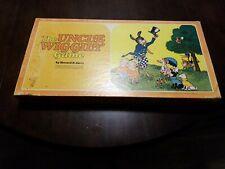 """1960's """"The Uncle Wiggily"""" Board Game Vintage Old Original Howard Garis Parker"""