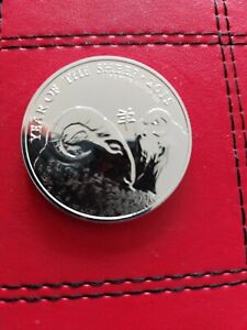 1oz SILVER BULLION COIN - 2015 ROYAL MINT LUNAR YEAR OF THE SHEEP
