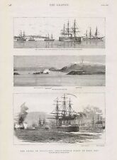 1882 CRISIS IN EGYPT THE ANGLO FRENCH FLEET IN SUDA BAY