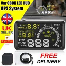 2018 Car HUD Head Up Display Speed Warning OBD2 MA675 Speedometer Projector