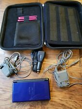Nintendo DS Lite Blue Cobalt with Adapters (Car/AC/USB) Stylus(3) and case