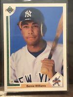 BERNIE WILLIAMS ROOKIE CARD New York Yankees 1991 Upper Deck Baseball STAR RC!