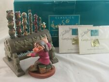 "WDCC ""Humph"" Grumpy and Pipe Organ from Disney's Snow White in Box Signed COA's"