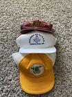 NWT Vintage 80s Freemason Shriner Mesh Trucker Snapback Hat Lot (3) VTG