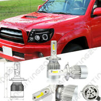 FOR 05-11 Toyota Tacoma LED Halo Projector Headlights Lamps BULBS PAIR