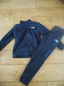 BOYS THE NORTH FACE FULL TRACKSUIT AGE 10-12 YEARS LARGE