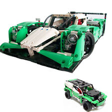 24 Hours Race Car 1249 Block Pcs 2 in 1 SUV Racer Bonus Rebrickable Lawn Mower