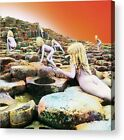 Led Zeppelin Houses of the Holy Album Cover Print Poster/ Canvas Framed Wall Art