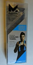 """Mission Premium Cooling Towel - Hydro Active 10x33"""" - New, Charcoal Space Dye"""