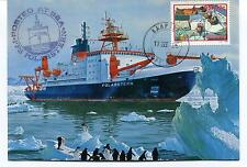 Polarstern Posted at Sea Cape Town Polar Antarctic Cover
