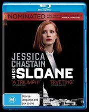 Miss Sloane (Blu-ray, 2017) NEW