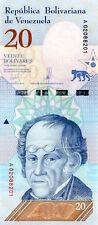 Venezuela UNC Banknote NEW Monetary Cone 2018 20 Bolivares Soberanos 1 Pc