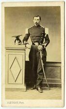CDV militaire 1864 Le Roch, Saumur. Cavalerie. Rigault, classé 7e. 4e Lanciers.