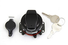 Heavy Duty Electronic Ignition Switch Gloss Black For Harley-Davidson