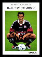Hasan Salihamidzic Autogrammkarte Bayern München 1998-99 Original Sign+A 153154