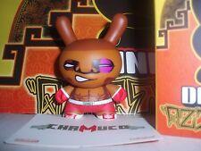 """◆Kidrobot 2011 AZTECA Series 2 LUIS MATA Chamuco Boxer 3"""" Dunny chase vinyl◆"""