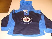 2012-13 Winnipeg Jets  Jersey Hoodie Age 4 Small Kids NHL Hockey Toddler Child