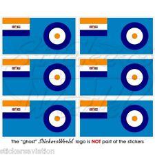South AFRICAN AVIAZIONE saaf FLAG 40-51 Mobile Cellulare Mini Adesivi-Decalcomanie x6