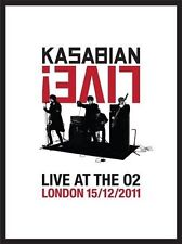 Kasabian Live!: Live At the O2 London 15/12/2011 by Kasabian (CD, 2012, 2 Discs, Eagle Vision)