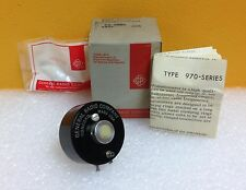 General Radio (GR) 973-D 10 ohm, Potentiometer (New in Box w/Instructions!)
