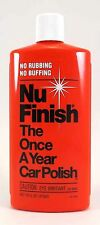 NuFinish The Once A Year Car Polish 473ml No Rubbing No Buffing Made in USA