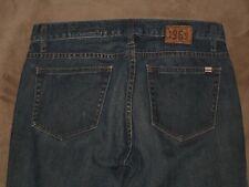 "Gap Size 6 Western Boot Cut Dark Blue Denim Womens Jeans 32.5"" Inseam"