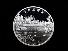 Korea 2004, Hoeryong Hometown 20Won,KM-261,42.216g,45mm, Silver proof Rare
