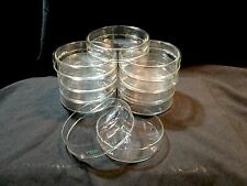 10 x Glass Pyrex Petri Dishes (bottom and cover), 18x100mm, Heat Resistant