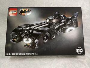 LEGO DC 1989 Batmobile Set (76139) - 3306 Pieces, New, Beautiful 📦, 👍🏻