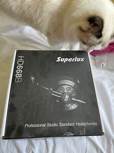 Superlux HD668B Professional Studio Standard Headphones