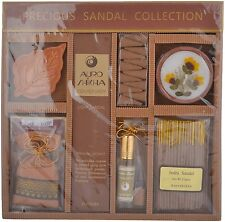 Auroshikha Precious Sandalwood Incense Candle Flowers Oil Potpourri Gift Boxed