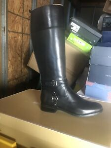 MICHAEL Michael Kors Womens Preston Boots Black Size 9.5