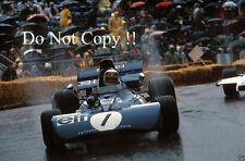 Jackie Stewart Tyrell 004 Monaco Grand Prix 1972 Photograph