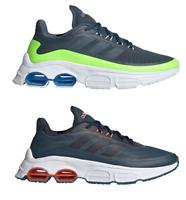Adidas Quadcube Running Scarpe Uomo da Corsa Sportive Allenamento Verde Grigio
