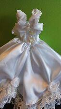 GENUINE BARBIE DOLL  WEDDING DRESS dress